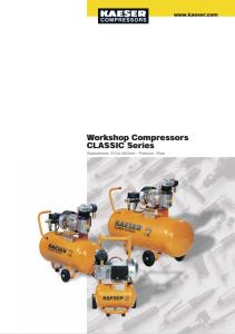Compressori a pistoni Serie CLASSIC series