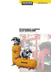 Compressori a pistoni Serie EUROCOMP
