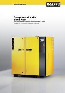 Compressori a vite Serie ASD