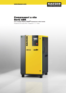 Compressori a vite Serie ASK