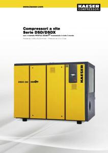 Compressori a vite Serie DSD DSDX