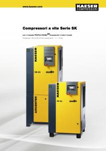 Compressori a vite Serie SK