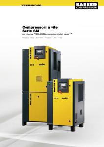 Compressori a vite Serie SM