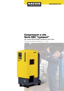 Compressori a vite Serie SXC