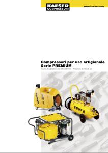 Compressori pistoni serie PREMIUM