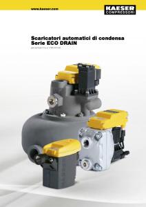 Scaricatori automatici di condensa ECO DRAIN