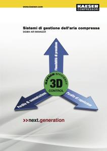 Sistema di gestione dell'aria compressa SAM 3D