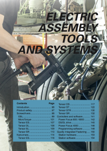 Electric assembly tools & systems