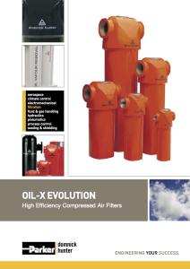 OIL-X EVOLUTION CATALOGO GENERALE ING NUOVO