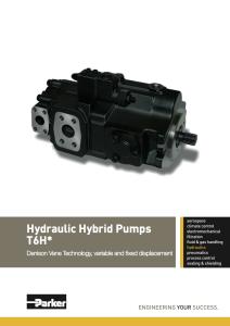 Pompe idrauliche T6H