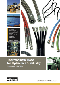Thermoplastic Hose for Hydraulics & Industry